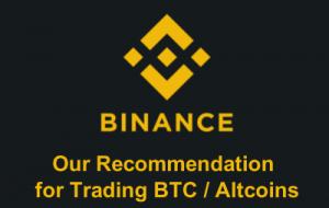 binance cryptocurrency bitcoin altcoin trading